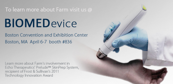 Visit Us at BIOMEDevice, Booth #836, April 6-7, 2011, at the Boston Convention and Exhibition Center