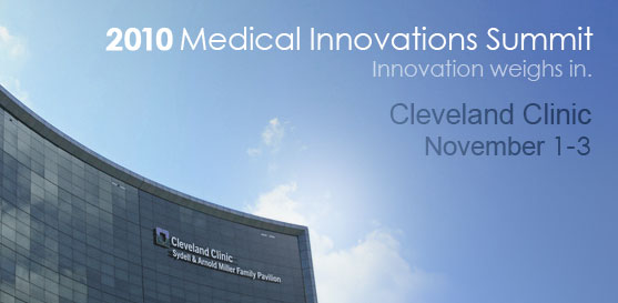 Join Farm at the 8th Annual Medical Innovation Summit, November 1-3, 2010, in Cleveland, Ohio