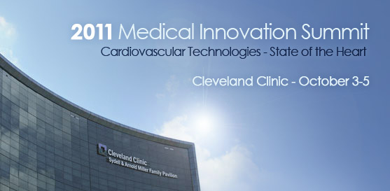 Join Farm at the 9th Annual Medical Innovation Summit, October 3-5, 2011 – Cleveland, Ohio