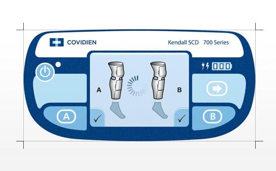 Covidien Kendall SCD 700 Series Controller 4