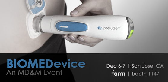 Join Farm at BIOMEDevice, booth #1147, December 6-7, 2011, at the San Jose Convention Center in San Jose, CA