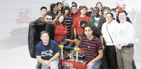 Farm Sponsors the Lawrence HS Gearheadz FIRST Robotics Team