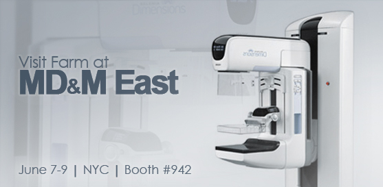 Visit Farm at MD&M East in NYC to View Hologic's Selenia Dimensions 3D Mammography System
