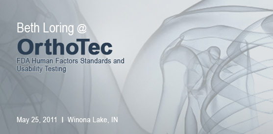 Beth Loring to present at OrthoTec