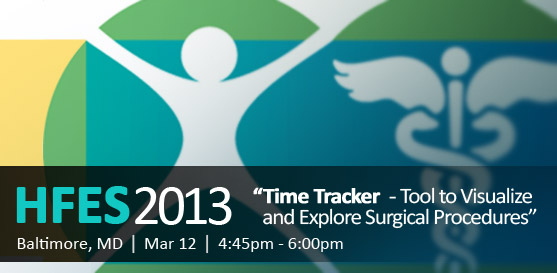 """Farm's Director of Research and Usability, Beth Loring, will present """"Time Tracker: Tool to Visualize and Explore Surgical Procedures"""""""