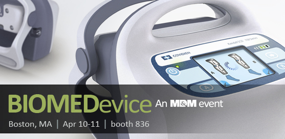 WEBevents BIOMEDevice Covidien 1