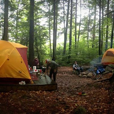 Farm Camping trip