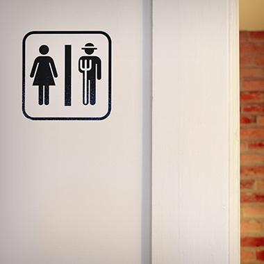 Farm Bathroom Sign