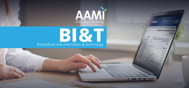 Farm in AAMI's BI&T Journal: Using the FDA MAUDE and Medical Device Recall Databases ign Better Devices