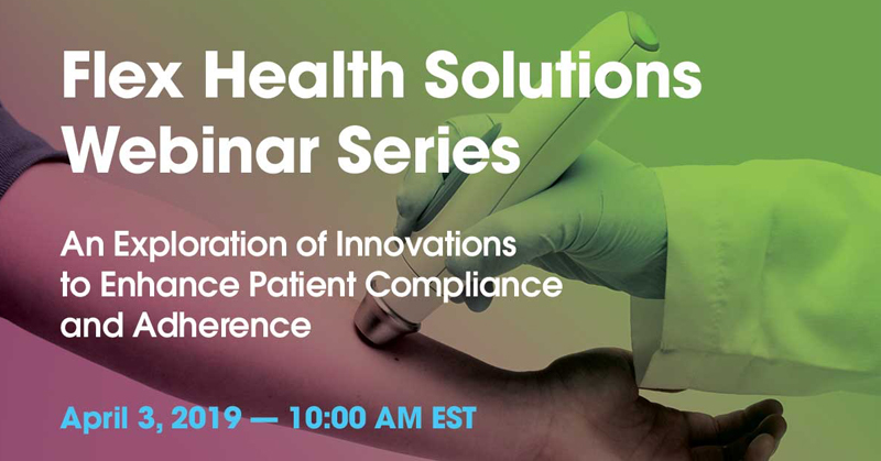 Webinar: An Exploration of Innovations to Enhance Patient Compliance and Adherence