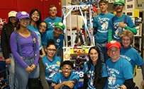 Farm Sponsored Gearheadz Team Wins FIRST Robotics Regional Competition