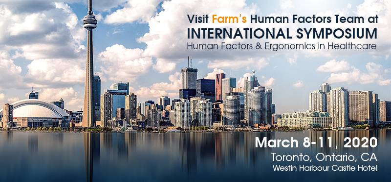 Farm's Human Factors Team to Exhibit and Present at HFES, March 8-11, Toronto, Canada