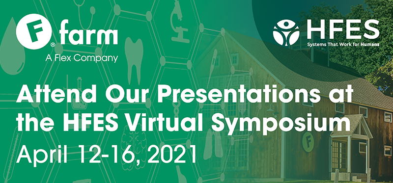Attend Our Presentations at the HFES Virtual Symposium, April 12-16, 2021