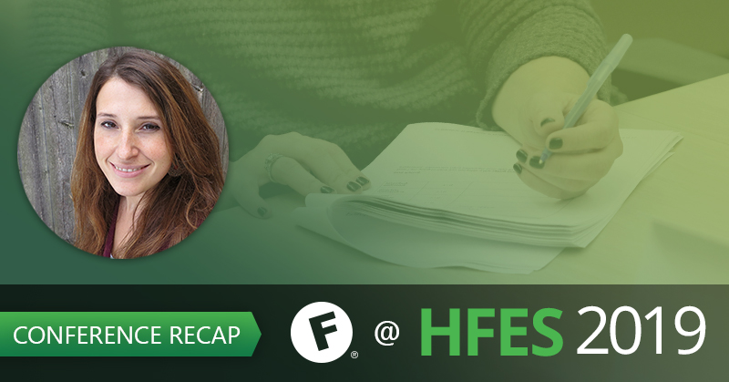 HFES 2019 Conference Recap