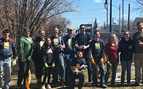 Celebrating Earth Day: Farm Volunteers at Downtown Nashua Parks Cleanup Day
