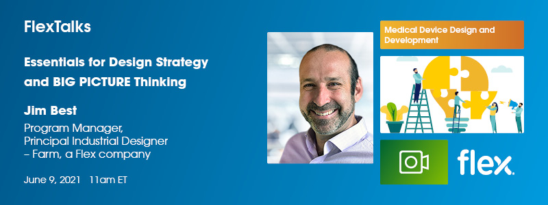 Flex Talks Webinar: Essentials for Design Strategy and BIG PICTURE Thinking