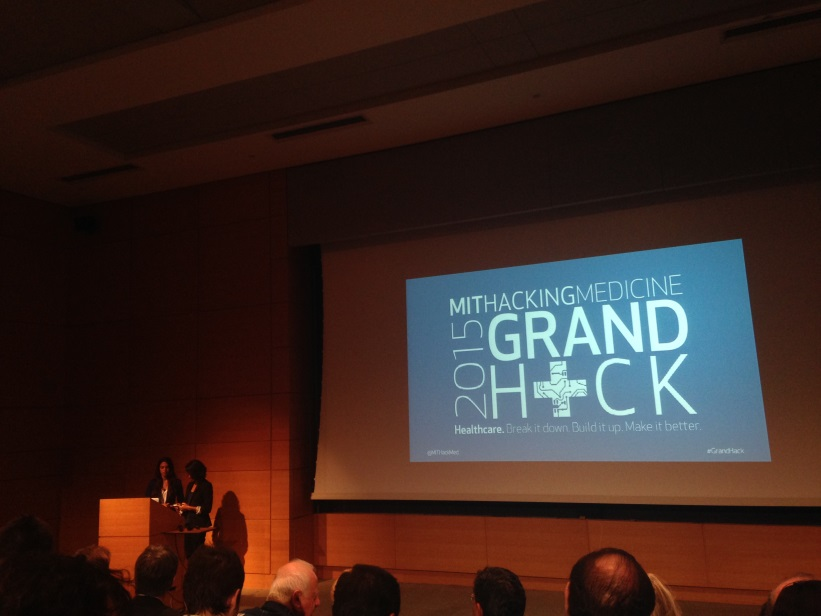 MIT Hacking Medicine's Grand Hack 2015