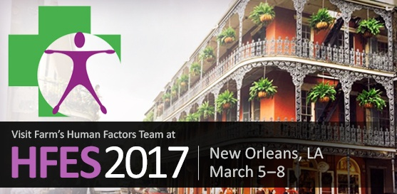 Connect with Farm at HFES and Attend Our Poster Session, March 7, 2017