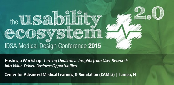 Farm to Speak at IDSA Medical Design Conference, Wednesday, Oct. 21, 2015 in Tampa, FL