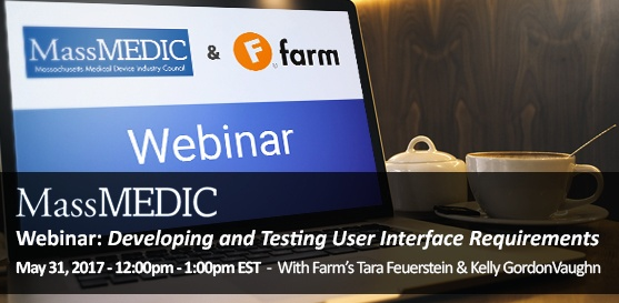 Webinar: Developing and Testing User Interface Requirements, May 31st, 12-1 PM EDT