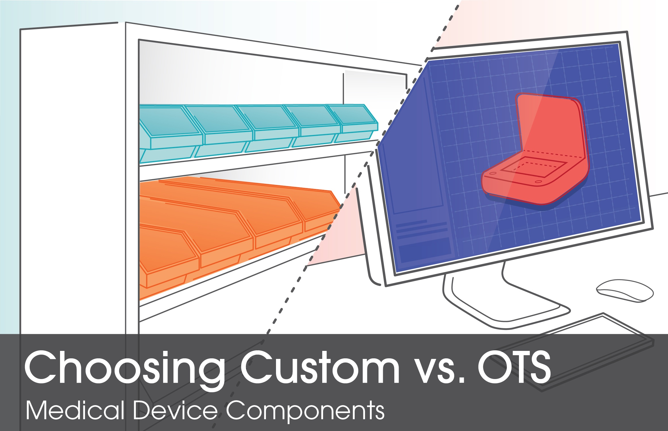 Choosing Custom vs. OTS Medical Device Components