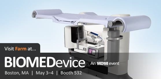 Visit Farm at BIOMEDevice Boston, May 3 - 4th – Learn About Our Work with Hologic